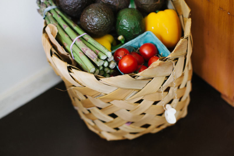My healthy grocery basket